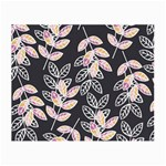 Winter Beautiful Foliage  Small Glasses Cloth (2-Side) Back