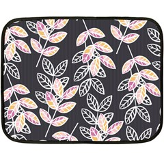 Winter Beautiful Foliage  Double Sided Fleece Blanket (Mini)