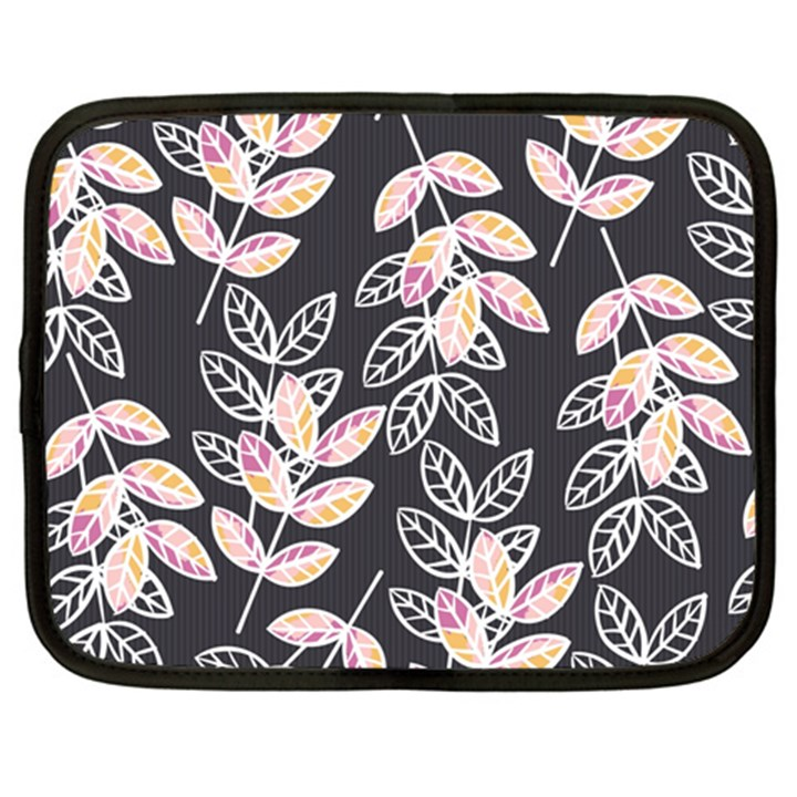 Winter Beautiful Foliage  Netbook Case (XL)
