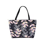 Winter Beautiful Foliage  Shoulder Handbags Back