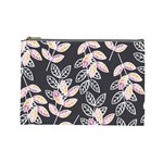 Winter Beautiful Foliage  Cosmetic Bag (Large)  Front