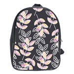 Winter Beautiful Foliage  School Bags(Large)  Front