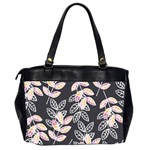 Winter Beautiful Foliage  Office Handbags (2 Sides)  Back