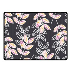 Winter Beautiful Foliage  Fleece Blanket (small)