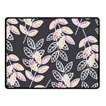 Winter Beautiful Foliage  Fleece Blanket (Small) 50 x40 Blanket Front