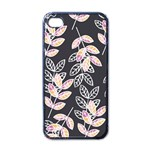 Winter Beautiful Foliage  Apple iPhone 4 Case (Black) Front