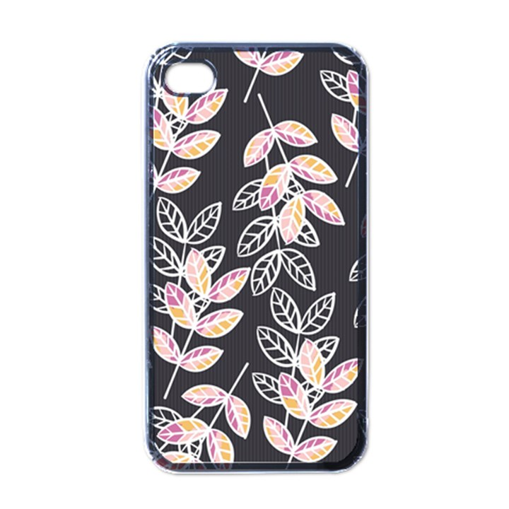 Winter Beautiful Foliage  Apple iPhone 4 Case (Black)