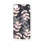 Winter Beautiful Foliage  Apple iPhone 4 Case (White) Front