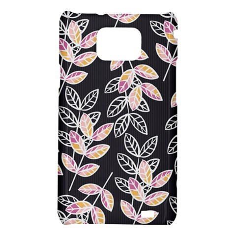 Winter Beautiful Foliage  Samsung Galaxy S2 i9100 Hardshell Case