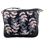 Winter Beautiful Foliage  Messenger Bags Front