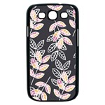 Winter Beautiful Foliage  Samsung Galaxy S III Case (Black) Front