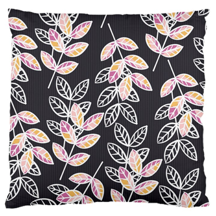 Winter Beautiful Foliage  Large Cushion Case (Two Sides)