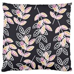 Winter Beautiful Foliage  Large Cushion Case (Two Sides) Back