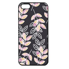 Winter Beautiful Foliage  Apple iPhone 5 Seamless Case (Black)