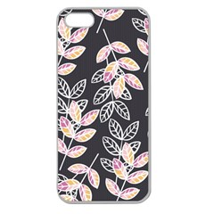 Winter Beautiful Foliage  Apple Seamless iPhone 5 Case (Clear)
