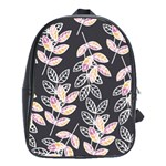 Winter Beautiful Foliage  School Bags (XL)  Front