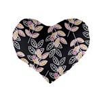 Winter Beautiful Foliage  Standard 16  Premium Heart Shape Cushions Back