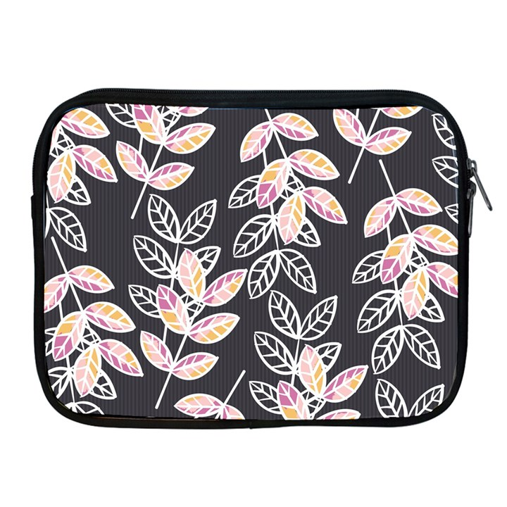 Winter Beautiful Foliage  Apple iPad 2/3/4 Zipper Cases