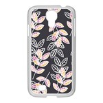 Winter Beautiful Foliage  Samsung GALAXY S4 I9500/ I9505 Case (White) Front
