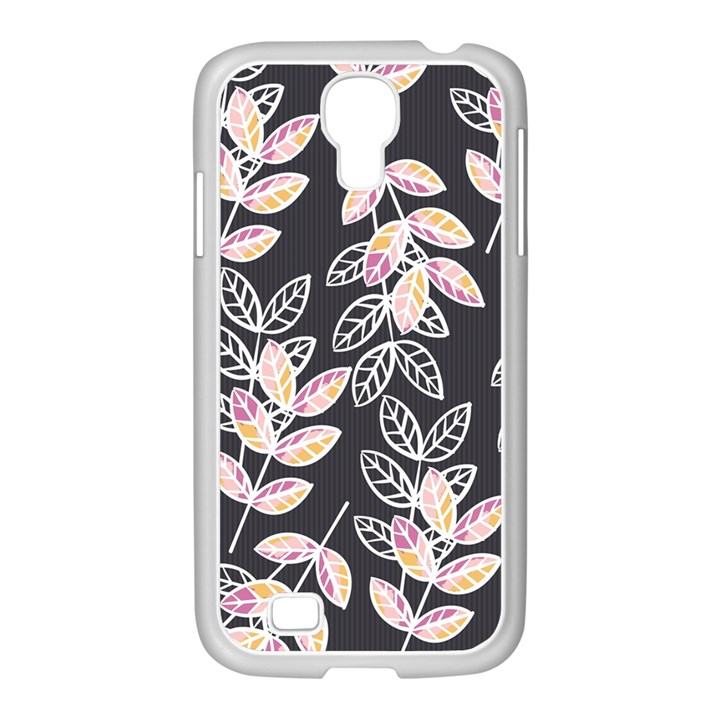 Winter Beautiful Foliage  Samsung GALAXY S4 I9500/ I9505 Case (White)
