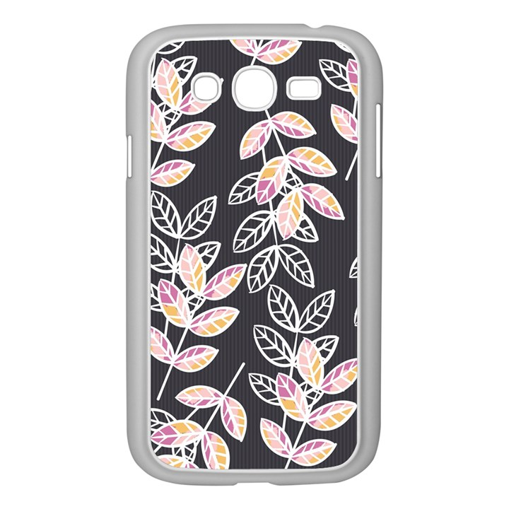 Winter Beautiful Foliage  Samsung Galaxy Grand DUOS I9082 Case (White)
