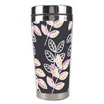 Winter Beautiful Foliage  Stainless Steel Travel Tumblers Left