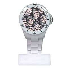 Winter Beautiful Foliage  Plastic Nurses Watch