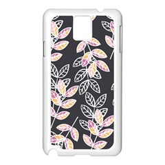 Winter Beautiful Foliage  Samsung Galaxy Note 3 N9005 Case (white)