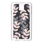 Winter Beautiful Foliage  Samsung Galaxy Note 3 N9005 Case (White) Front