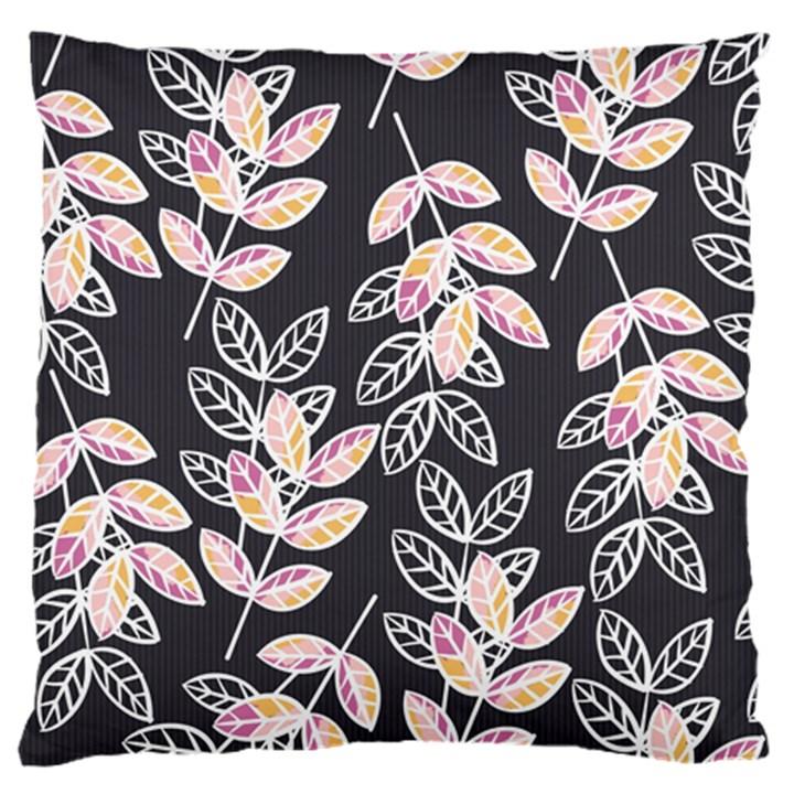 Winter Beautiful Foliage  Standard Flano Cushion Case (One Side)