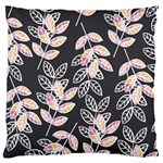 Winter Beautiful Foliage  Large Flano Cushion Case (Two Sides) Front