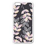 Winter Beautiful Foliage  Apple iPhone 6 Plus/6S Plus Enamel White Case Front
