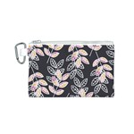 Winter Beautiful Foliage  Canvas Cosmetic Bag (S) Front