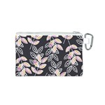 Winter Beautiful Foliage  Canvas Cosmetic Bag (S) Back