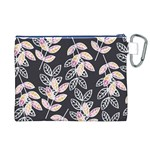 Winter Beautiful Foliage  Canvas Cosmetic Bag (XL) Back