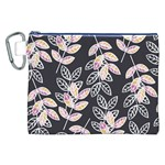 Winter Beautiful Foliage  Canvas Cosmetic Bag (XXL) Front