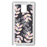 Winter Beautiful Foliage  Samsung Galaxy Note 4 Case (White) Front