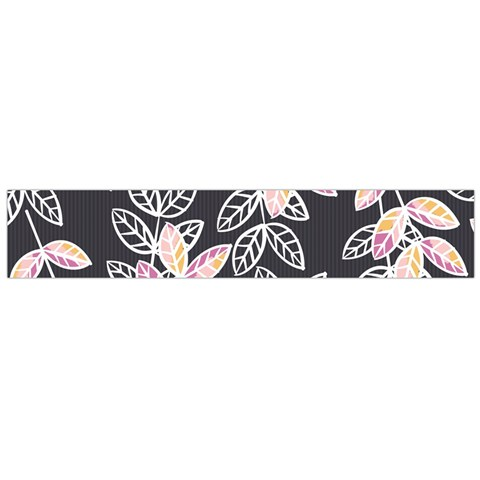 Winter Beautiful Foliage  Flano Scarf (Large)