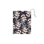 Winter Beautiful Foliage  Drawstring Pouches (XS)  Front