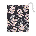 Winter Beautiful Foliage  Drawstring Pouches (Extra Large) Front