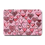 Artistic Valentine Hearts Small Doormat  24 x16 Door Mat - 1