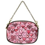 Artistic Valentine Hearts Chain Purses (Two Sides)  Front