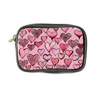 Artistic Valentine Hearts Coin Purse Front