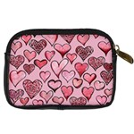 Artistic Valentine Hearts Digital Camera Cases Back