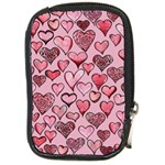 Artistic Valentine Hearts Compact Camera Cases Front