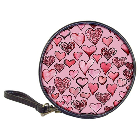 Artistic Valentine Hearts Classic 20-CD Wallets
