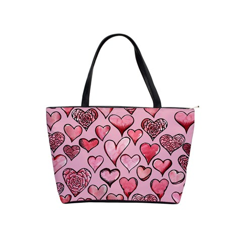 Artistic Valentine Hearts Shoulder Handbags