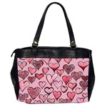Artistic Valentine Hearts Office Handbags (2 Sides)  Back