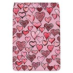 Artistic Valentine Hearts Flap Covers (L)  Front