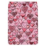 Artistic Valentine Hearts Flap Covers (S)  Front
